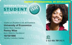 студента ISIC