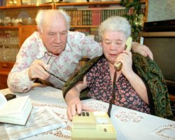 уменьшенная плата на телефонные услуги пенсионерам