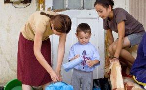 Разница между одиноким малоимущим человеком и семьёй