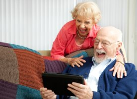 общение в доме престарелых