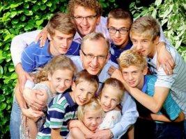 многодетный отец дети от разных браков льготы